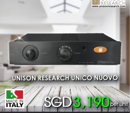 UNICO NUOVO INTEGRATED AMPLIFIER