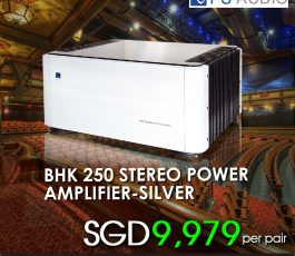 PS AUDIO BHK 250 STEREO POWER AMPLIFIER-SILVER