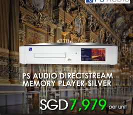 PS AUDIO AUDIO DIRECT STREAM MEMORY PLAYER- SILVER