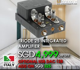 UNISON RESEARCH TRIODE 25 Integrated Amplifier