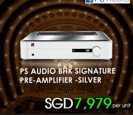 PS AUDIO BHK SIGNATURE PRE AMPLIFIER-SILVER