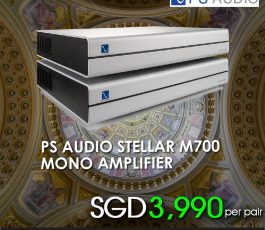 PS AUDIO STELLAR M 700 AMPLIFIER