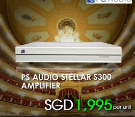PS AUDIO STELLAR S 300 AMPLIFIER