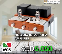 Unison Preludio Class A Integrated Stereo Amplifier