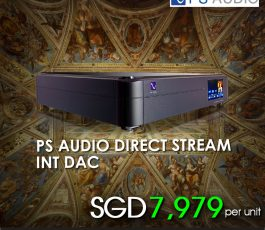 PS AUDIO DIRECTSTREAM INT DAC-BLACK